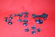 40k Battlefleet Gothic painted Space Marine Black Templar Lot