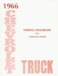 CHEVROLET 1966 Truck Wiring Diagram 66 Chevy Pick Up | eBay