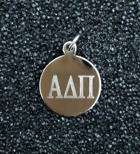 Alpha Delta Pi sorority STERLING SILVER Greek letter PENDANT charm