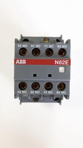 ABB N62E 230V Hilfsschütz Sicherheitsrelais Schütz 1SBH141001R8062 NEU #229