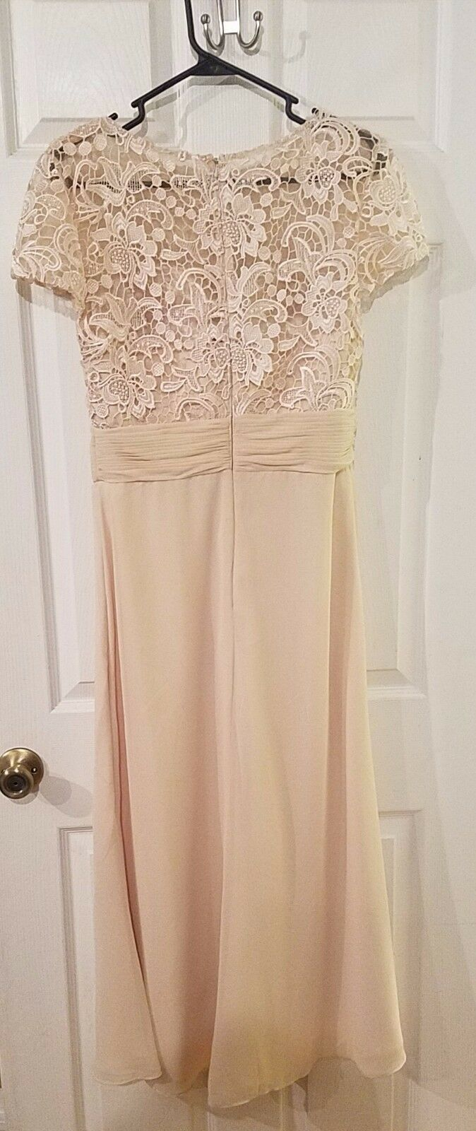 Ivory Ivory Ivory Formal Gown moter of the bride Size 6 0d44d4