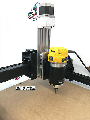"""6 /"""" TRAVEL X CARVE READY - - Z AXIS SLIDE 5/"""" CNC ROUTER linear motion"""