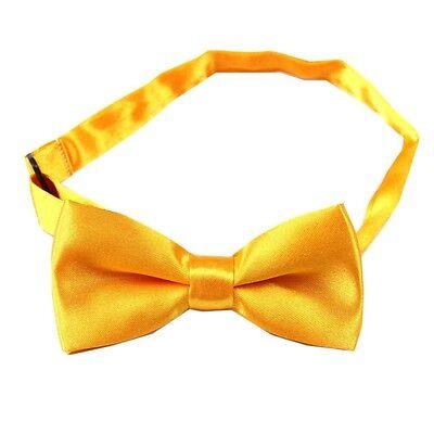 31 colors boys Children kids Solid Bowtie Groom Wedding Party satin bow tie BCH