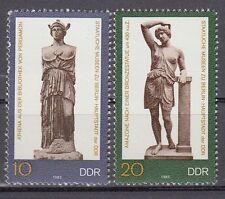 DDR East Germany 1983 ** Mi.2790/91 Museen Berlin Kunstwerke Kunst Art