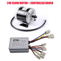 24v 350w Electric Bicycle Atv E-bike E-scooter Brush Motor Controller 25h 11t Us