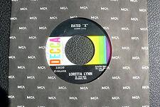 """7"""" Loretta Lynn - Rated """"X""""  - US DECCA"""