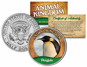 PENGUIN-Animal-Kingdom-Series-JFK-Kennedy-Half-Dollar-U-S-Coin