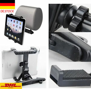 iPad-2-Samsung-Galaxy-Tab-2-3-4-S-S2-A-E-Kopfstuetzen-Halterung-Tablet-KFZ-Auto