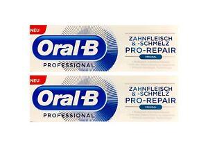 2x-Oral-B-Professional-Zahnfleisch-und-Zahnschmelz-Pro-Repair-Original-75-ml