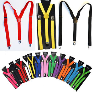 1cec40e14c0 Image is loading Men-Dance-Costume-Party-Pants-Dapper-Suspenders-Braces-