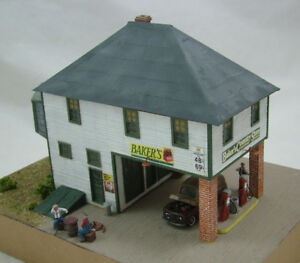 RAILROAD-KITS-HO-SCALE-034-BABY-034-or-LITTLE-BAKERS-COUNTRY-STORE-KIT