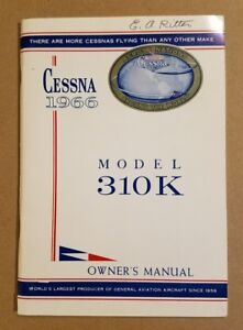 1958 Cessna 172 Owners manual