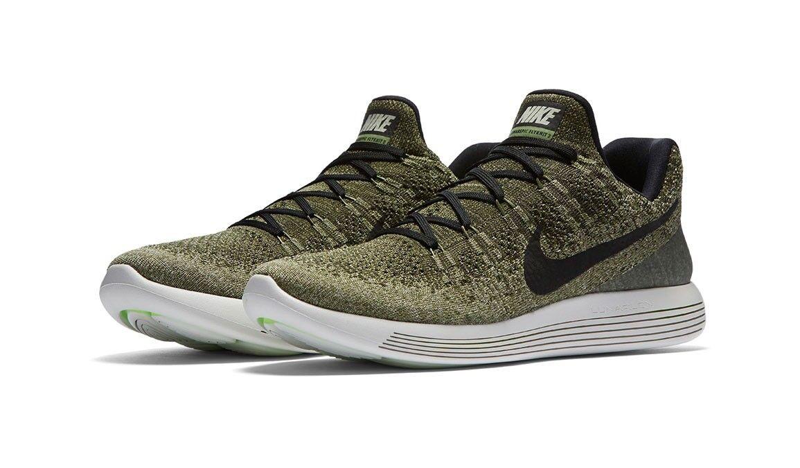 Para lunarepic hombres Nuevas Auténticas Nike lunarepic Para bajo Flyknit 2 calzado para correr Tamaños 7.514 ba423c