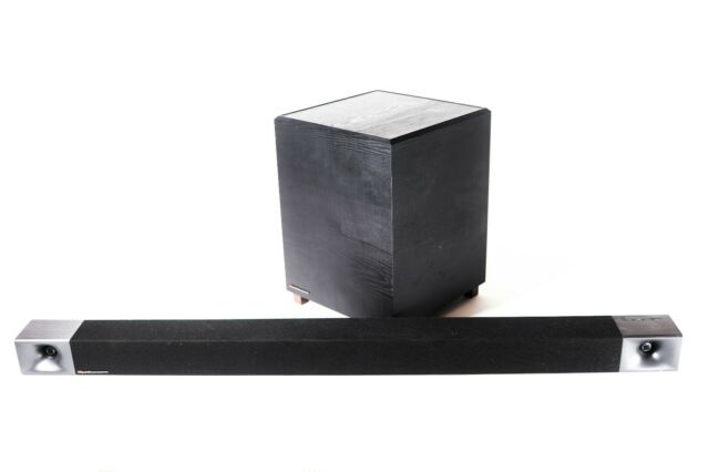 "Klipsch BAR 48 3.1 Soundbar with 8"" Wireless Subwoofer - BLACK 