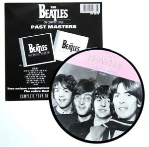 NEW-Beatles-Picture-Disc-Lady-Madonna-7-034-Vinyl-The-20th-Anniversary-Insert