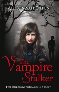 The-Vampire-Stalker-by-Allison-van-Diepen-Good-Used-Book-Paperback-FREE-amp-FAS