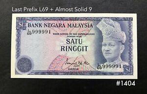 Malaysia-4th-1-Last-Prefix-L69-almost-solid-9-999991-UNC-minor-foxing