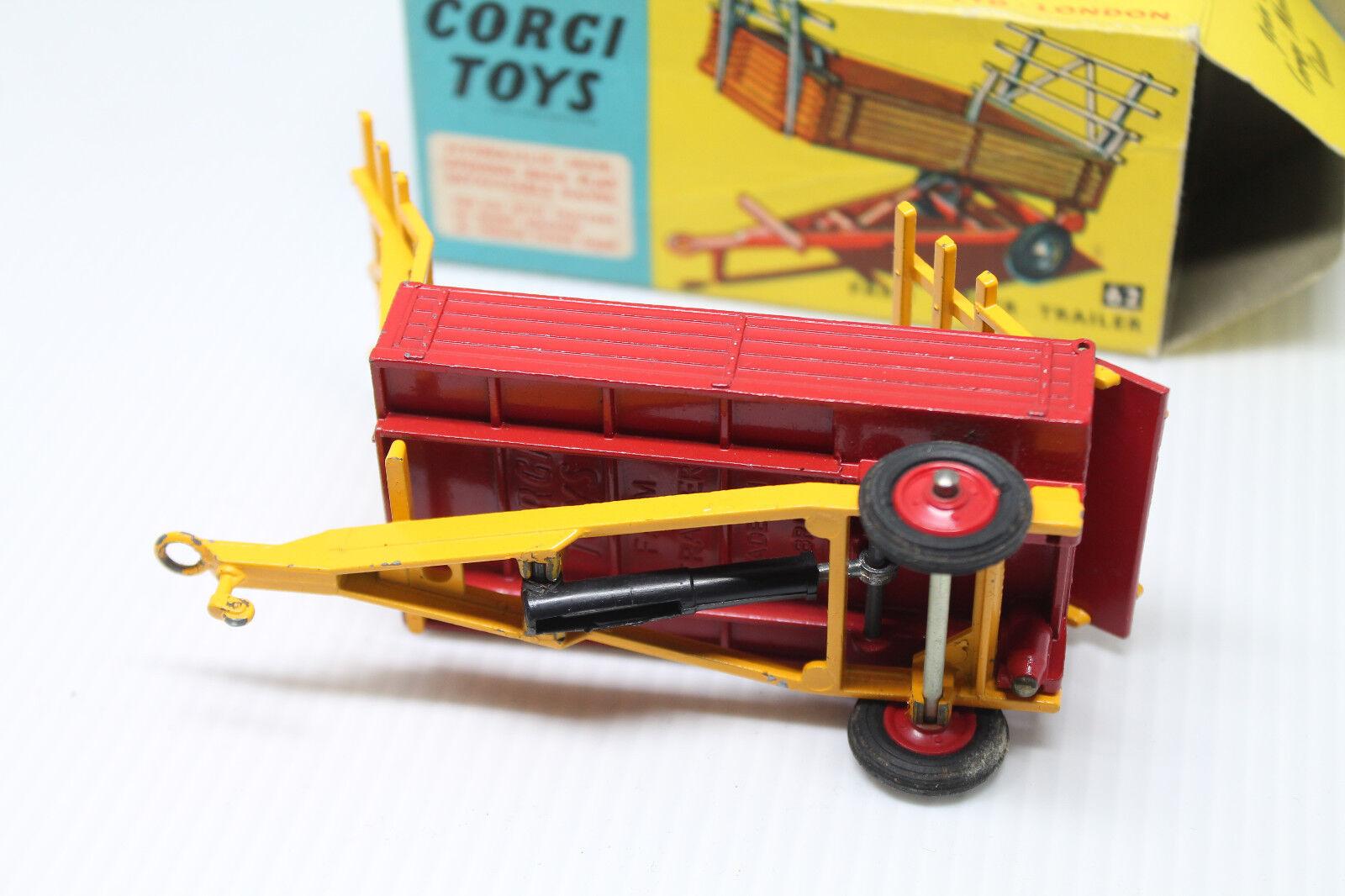 CORGI TOYS 62  Farm xJack Caravane  Neuf dans dans dans sa boîte | Matériaux Soigneusement Sélectionnés  | De Haute Qualité Et De Bas Frais Généraux  | Formes élégantes  | Magasiner  1845d7