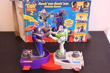 Disney Toy Story 2 Rock 'em Sock 'em Robots Buzz and Zurg Nearly New Open Box