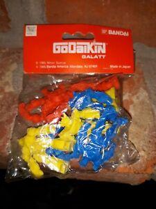 """1 Pack Bandai 1985 GODAIKIN GALATT 1.5/"""" Robot Rubber Figure Erasers"""