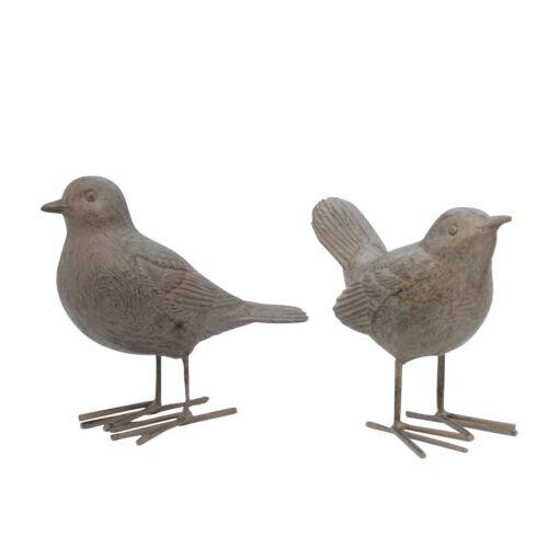 Pair Of Garden Birds Garden Ornaments Gisela Graham
