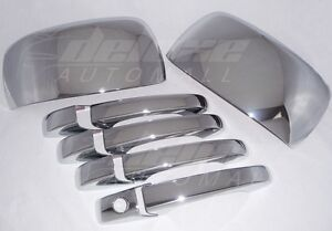 Chrome Mirror + Door Handle Covers FOR Dodge Grand Caravan Chrysler Town&Country