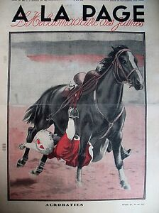 Horse-Stunt-Cossack-the-Kuban-Locomotive-Pacific-Journal-a-la-Page-1931