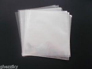 10 Clear Plastic 7 45 Rpm Vinyl Record Album Sleeves Bags