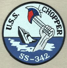 USN Navy Patch:  Ship - USS Chopper SS-342 - 5""