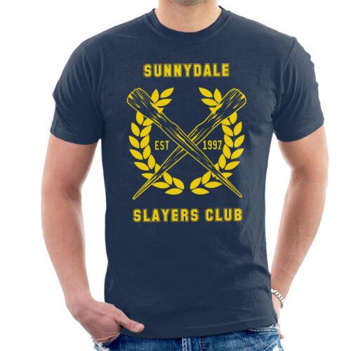 Sunnydale Slayers Club Buffy Men/'s T-Shirt
