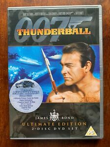 Thunderball-DVD-1965-James-Bond-007-w-Sean-Connery-2-Disc-Ultimate-Edition