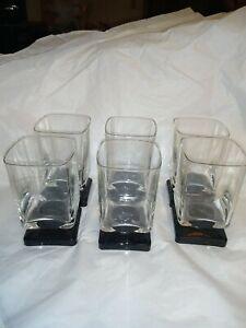 Square-Base-Liquor-Glasses-Black-And-Clear