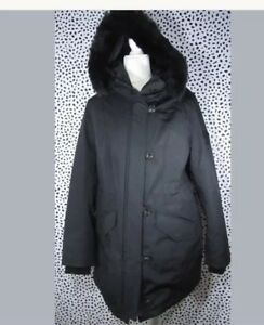 7d1abdc2e60 Ugg Women's Adirondack 1017640 Black Toscana Hooded Removable Vest ...