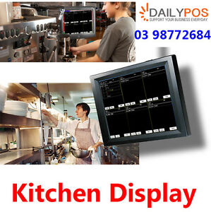 DailyPOS Touch Screen POS Kitchen Display System for Restaurant Cafe ...