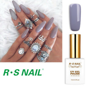 RS-Nail-Gel-Nail-Polish-UV-LED-Soak-Off-Grey-Colour-Gel-Nail-Polish