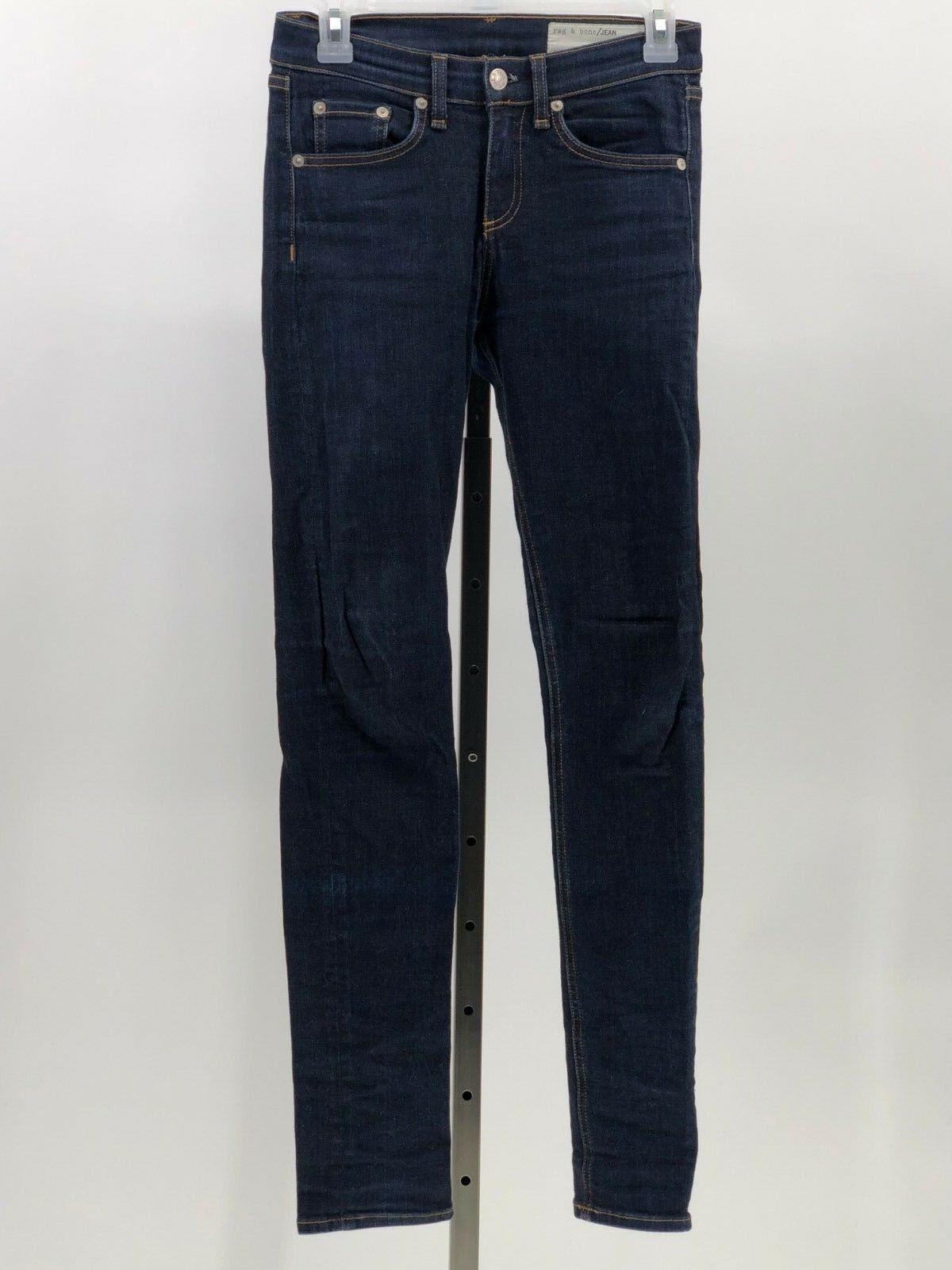 Rag & Bone High rise skinny jean jeans sz 25 EUC EI36