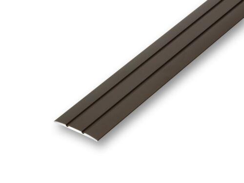 6,21EUR//m 38 mm Übergangsprofil flach bronze selbstklebend Türprofil ≤1,70 m