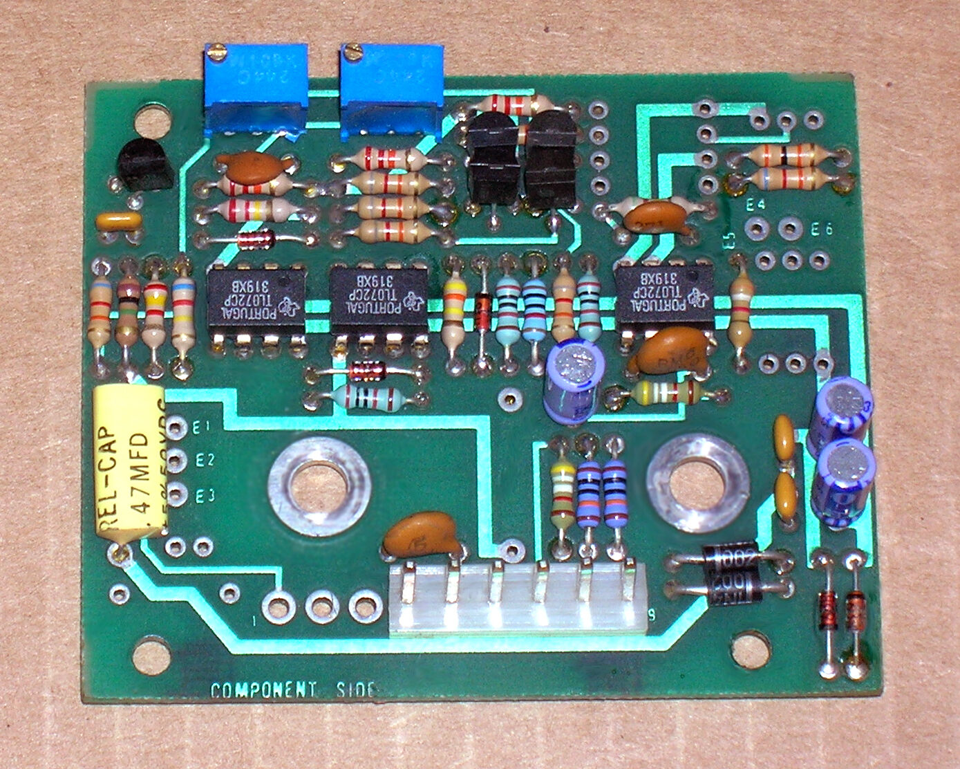1- Quad Eight VU and PPM meter drive board  use on any VU meter  RARE