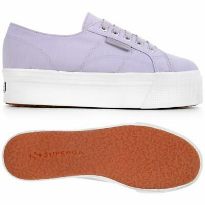 Superga Lady Shoes Woman 2790-FROSTEDCOTW Leisure Wedge