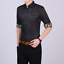 Business-Office-Work-Men-Casual-Stylish-Slim-Fit-Short-Sleeve-Shirt-Tops-Blouse thumbnail 6