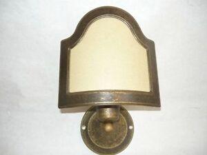 Applique lampada ottone bagno parete ventola appliques ebay