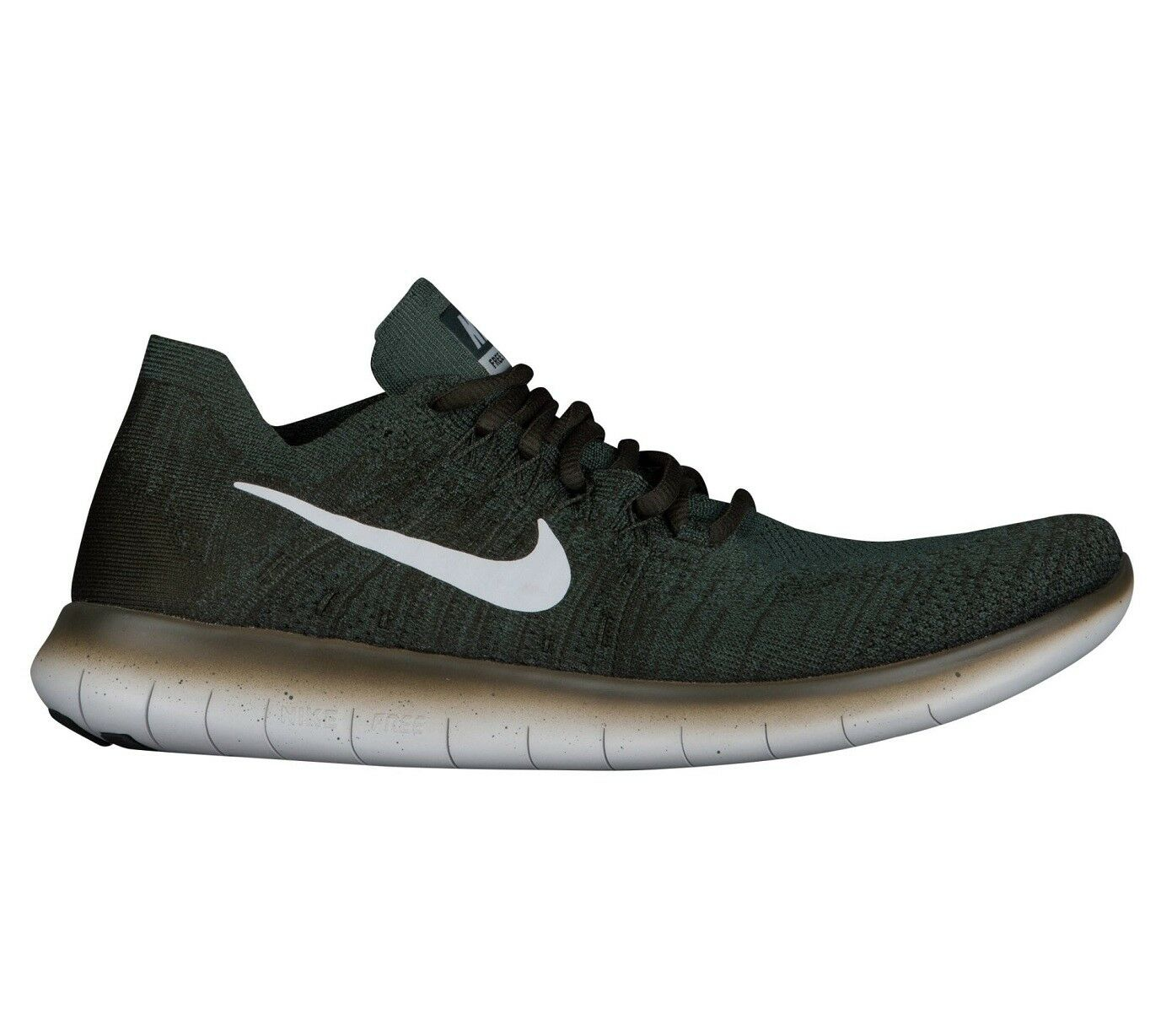 Nike Free RN Flyknit 2018 Mens 880843-300 Vintage Green Running Shoes Comfortable The latest discount shoes for men and women