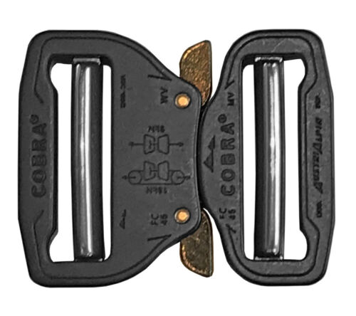 AustriAlpin Cobra Buckle 45mm Aluminum Quick Release Dual Adjustable No Sew