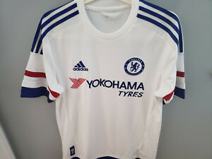 Chelsea Adidas Mens Climacool Away Replica Soccer Jersey Adult ...
