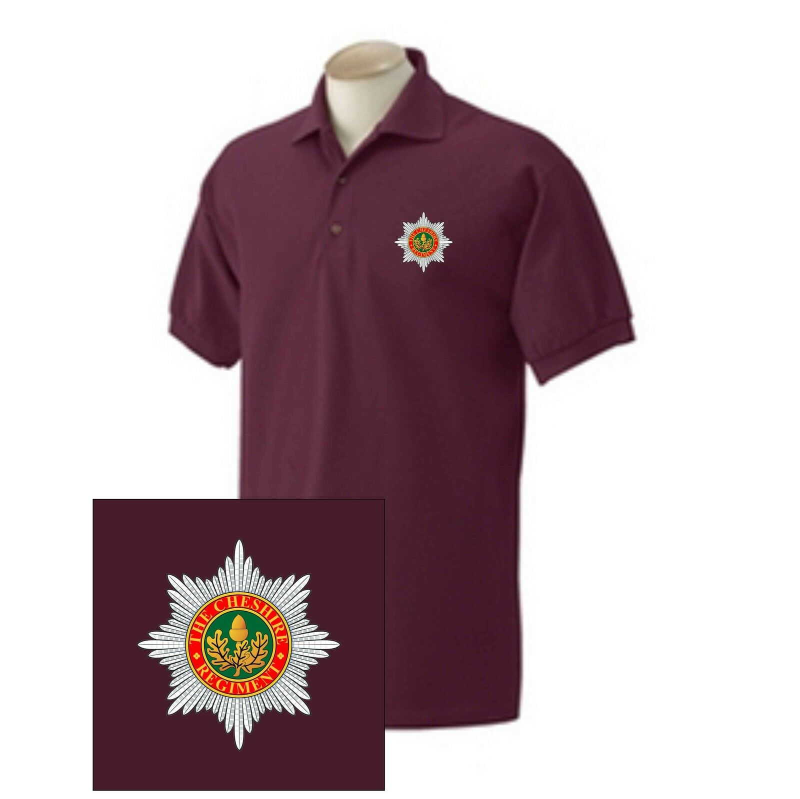 1rd Battalion Custom Embroidered Parachute Regiment Polo Shirts /& T-Shirts new