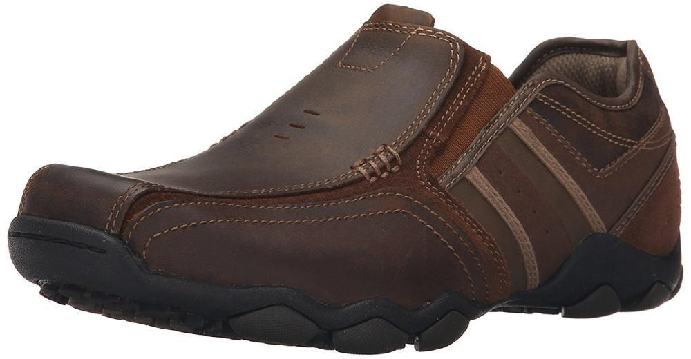 Man's/Woman's Skechers USA Men's Diameter-Zinroy Slip-On Loafer flagship store luxurious Different styles