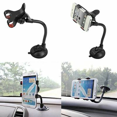 360°Rotating Universal Car Windshield Mount Holder Stand Bracket for Cell Phone