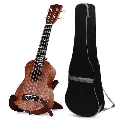 "TOKKY 21"" Soprano Ukulele Ukelele Sapele Hawai Guitarra Instrumentos con Bolso"