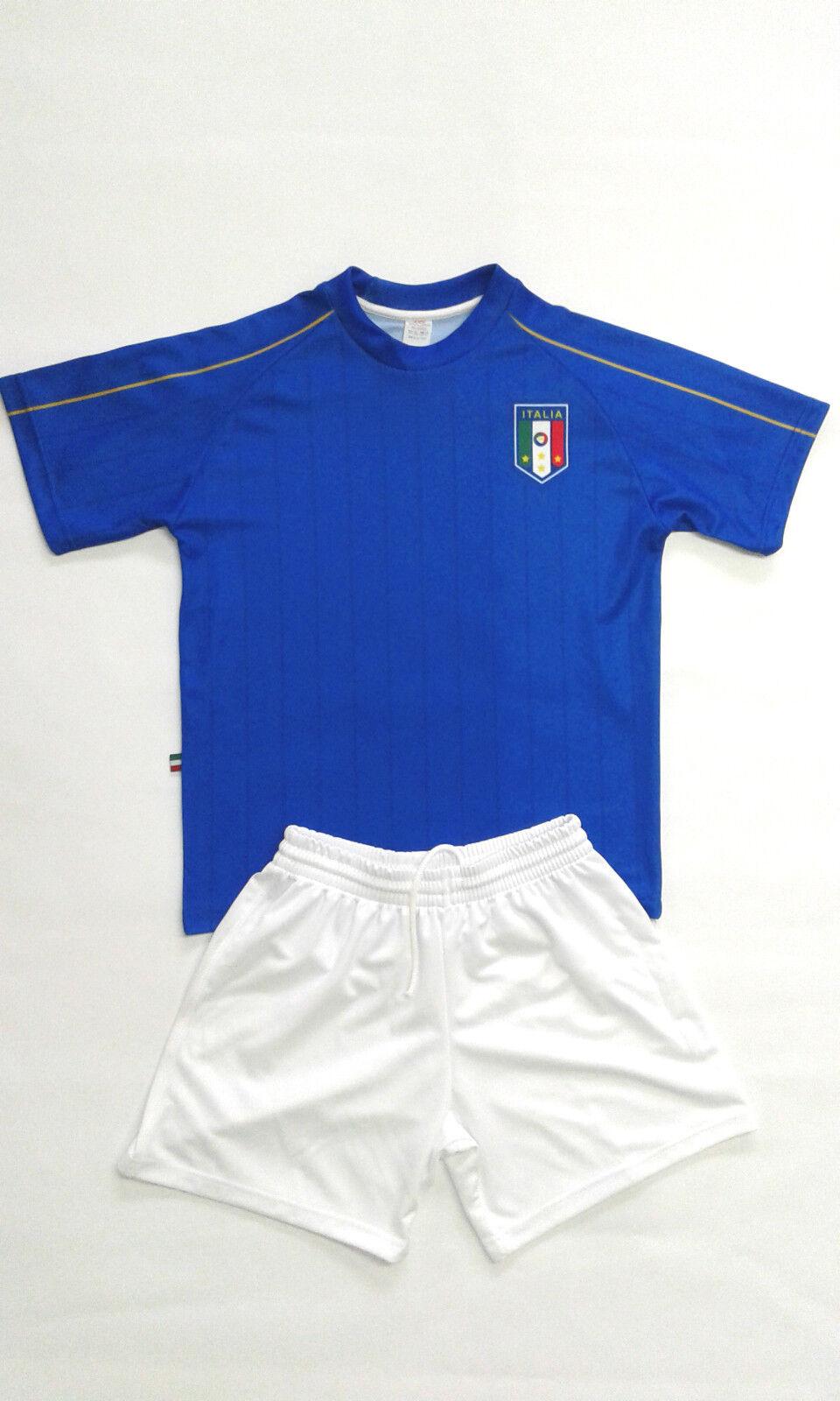 4 o + Completi ITALIA Calcio Nazionale Azzurri Con Nome Numero Europei Francia