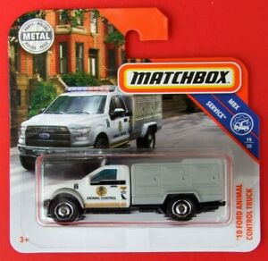 MATCHBOX-2019-10-FORD-ANIMAL-CONTROL-TRUCK-81-100-NEU-amp-OVP